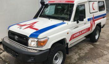 Armoured Toyota LandCruiser Ambulance