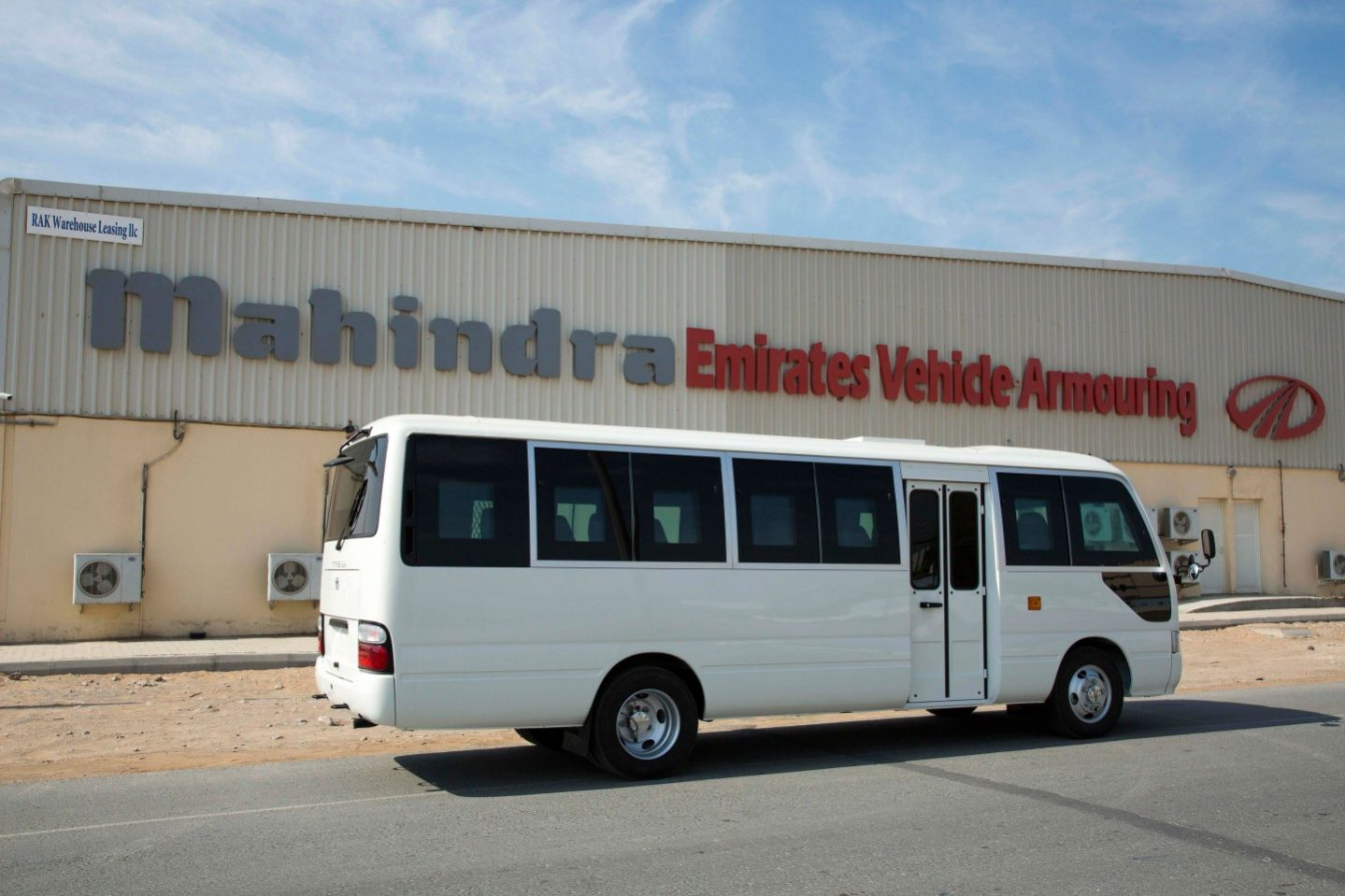B6 Armoured Toyota Coaster Bus (People carrier) - ArmouredCars Pro