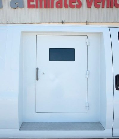 B4 Armoured GMC Savana Cash In Transit ( CIT) Van full