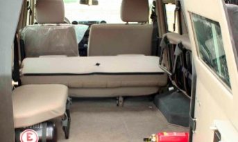B6 Armoured Toyota Landcruiser 76 full