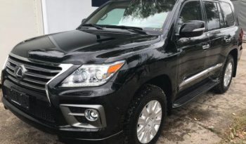 Lexus LX 570 – Armoured VR7 full