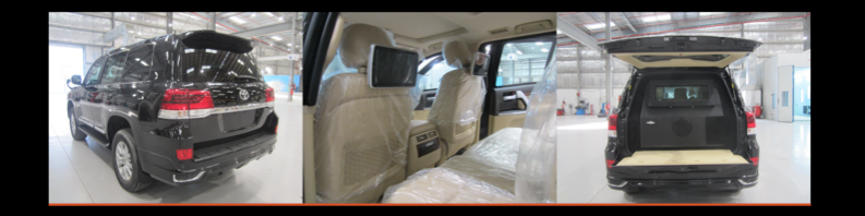 RHD Toyota LandCruiser 200 NEW and in stock full