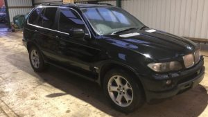 RHD BMW X5 Armoured B4