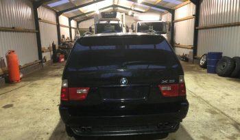 RHD BMW X5 Factory Armoured full