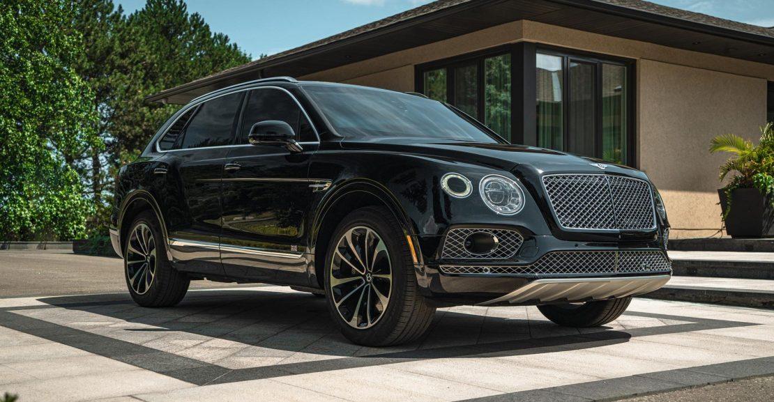 Armoured Bentley Bentayga