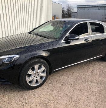 Mercedes S600L Guard for rent